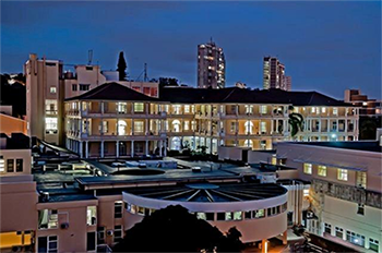 Netcare St Augustine's Hospital by night